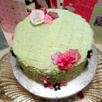 Birthday Post: Candyfloss & Freeze Dried Raspberry Birthday Cake