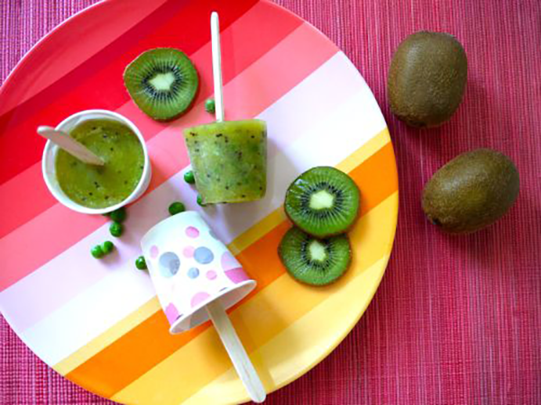 Back to School Vegan Snacks kiwi pops