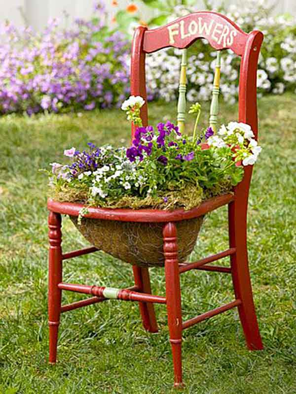 chair-planter