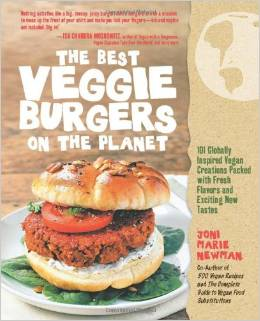 The Best Veggie Burgers On The Planet Book