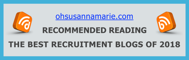 ohsusannamarie.com Recommended Reading - The Best Recruitment Blogs of 2018
