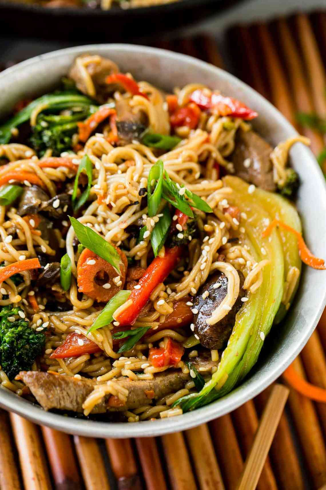 Quick and Easy 15 Minute Beef Stir Fry - Oh Sweet Basil