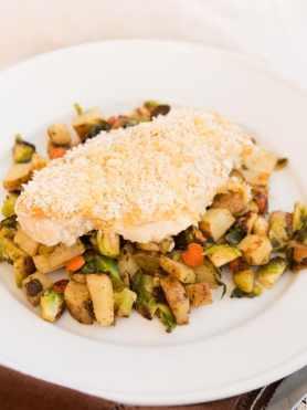 healthy chicken recipe for hummus chicken ohsweetbasil.com