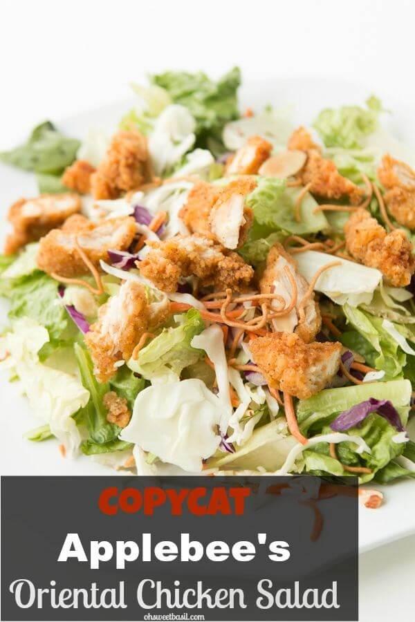 Copycat Applebee S Oriental Chicken Salad