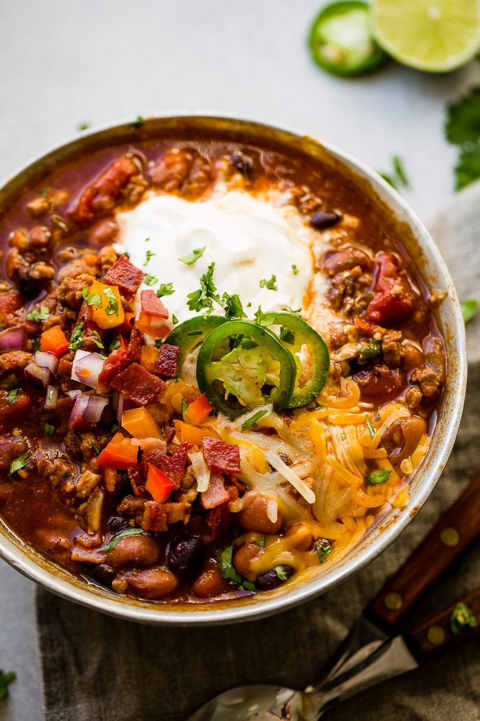 Chili Recipes Winning Award Turkey