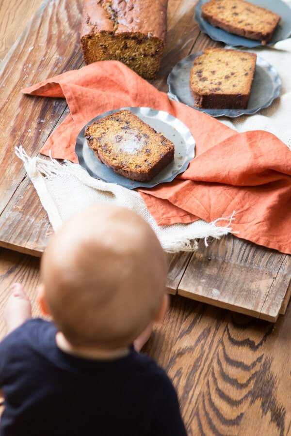 Every year the internet explodes with pumpkin recipes but what you really need is a perfect pumpkin chocolate chip bread recipe and I've got you covered.