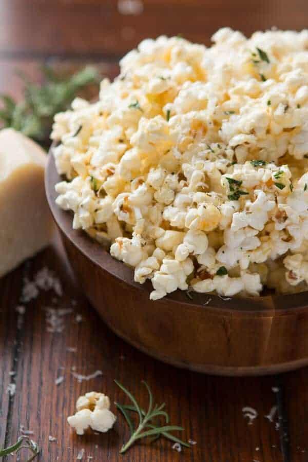 Rosemary Spice Popcorn