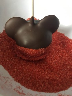Disneyland Holiday Mickey Cake Pops Disney Park Recipe