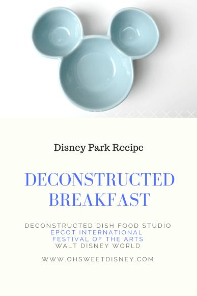 Disney Park Recipe: Deconstructed Breakfast