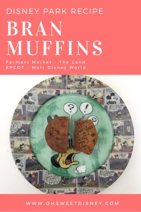 Bran Muffins - Epcot - Disney Park Recipe
