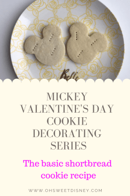 Mickey Valentine's Day Cookie Decorating Series