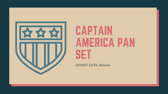 Captain America Pan Set