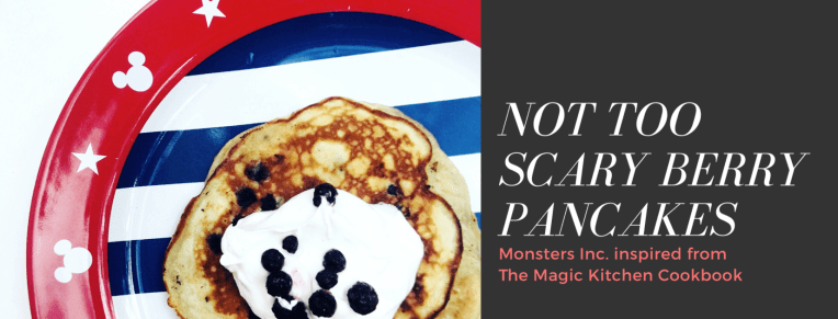 Not Too Scary Berry Pancakes Review