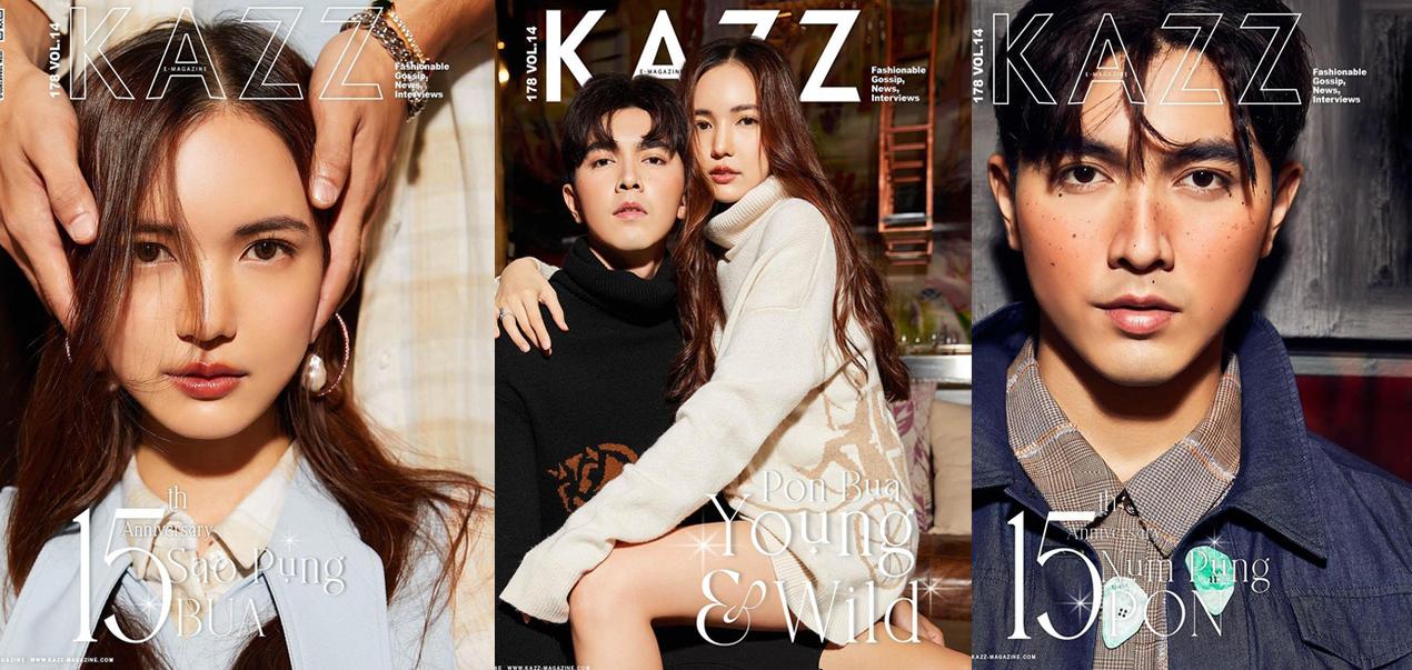 [Interview] Pon-Bua for Kazz Magazine