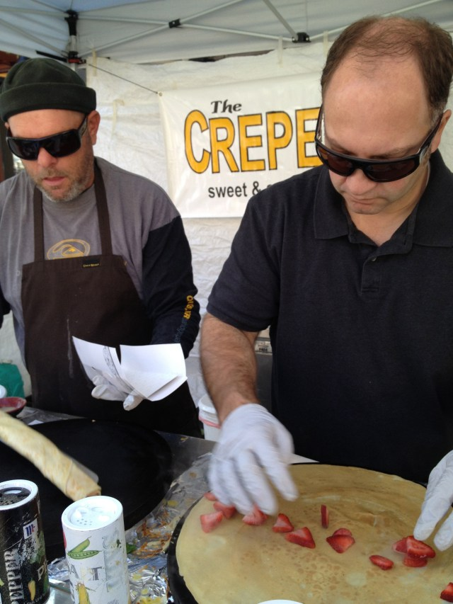 Fabulous French confections from the The Creperie