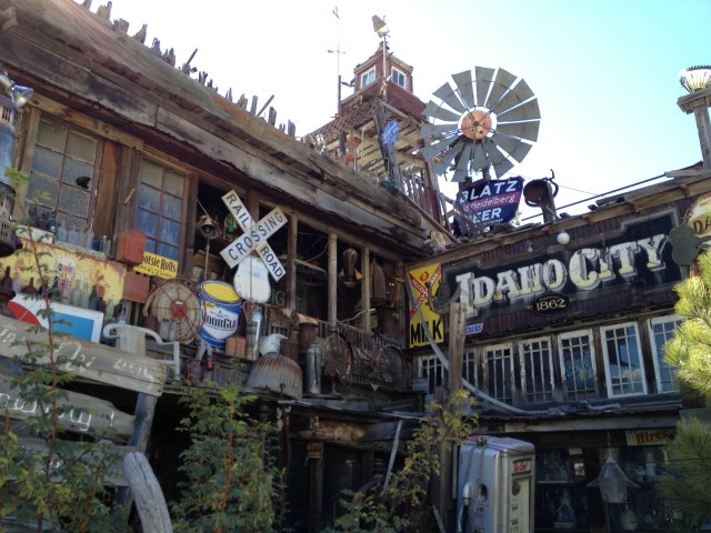 Idaho City's famous house