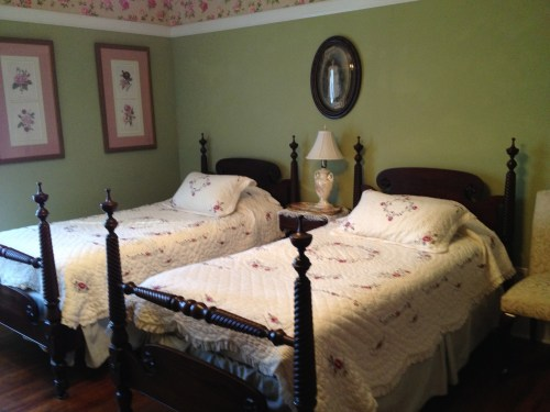 Twin bed room GreenRose of Raus