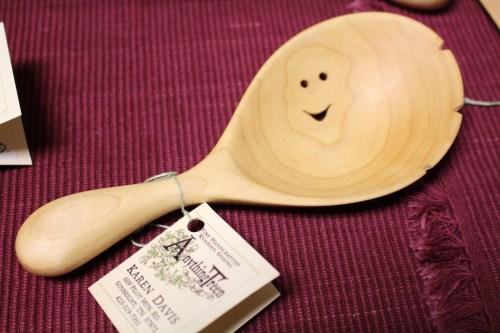 Karen Davis, Wooden Spoons and Bowls