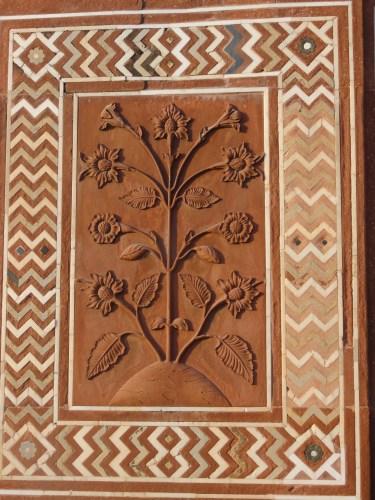 Relief from Taj Mahal