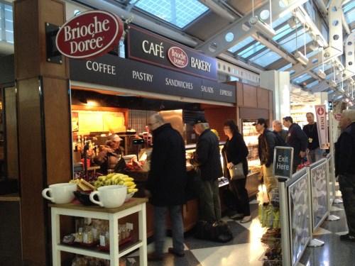 Brioche Duree, Chicago O'Hare Airport