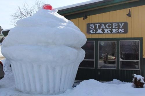 MCCall Idaho Winter Carnival 2014 ice sculpture