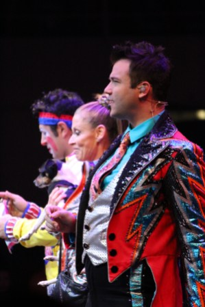 Three performers: Ringling Bros. Circus