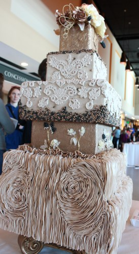 Tammy Owenby, 1st Place Wedding Cake