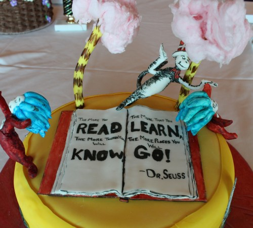 Year Shah's Dr. Seuss:  3rd Place in All-Occasion Fondant, Beginner Division