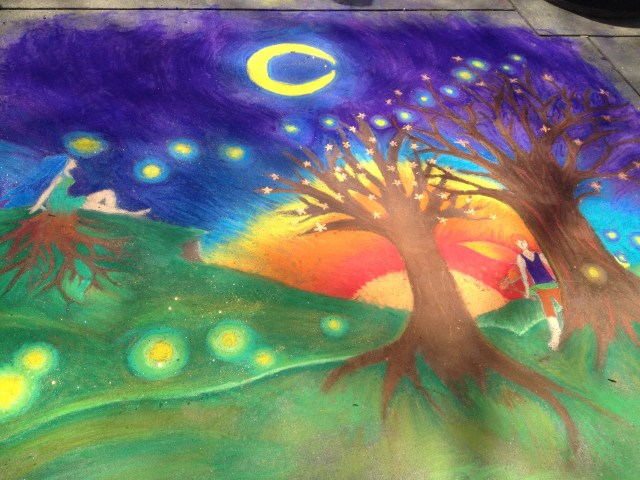 Chalk Walk: Entry from Vine Middle School