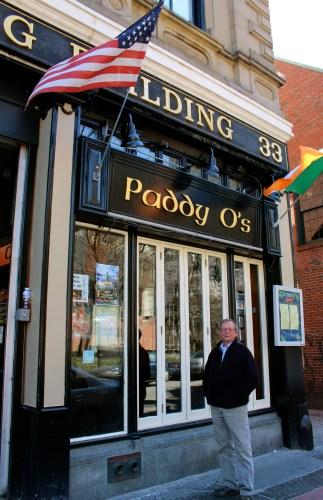 Bert at Paddy O's, Boston