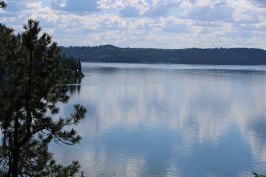 Reflections in Lake Coeur d'Alene