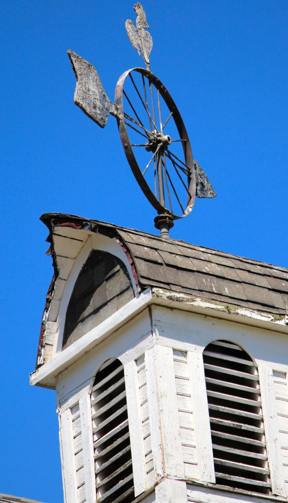Weathervane designed by Steve Dahmen