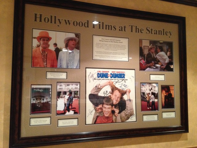 Pictures of The Stanley as a background for Hollywood films