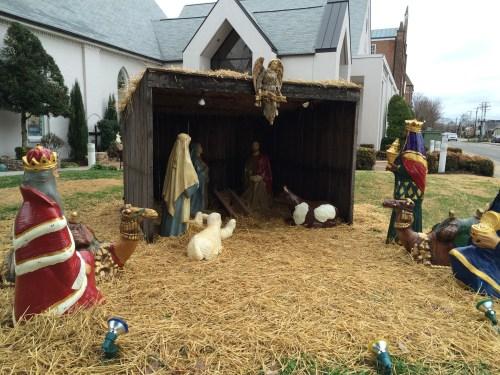 Nativity: St. Philip Catholic Church, Franklin, TN