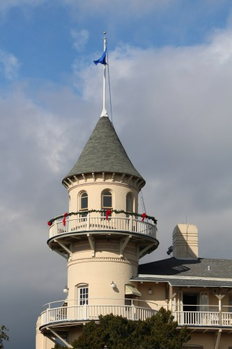 The iconic turret of the Jekyll Island Club.