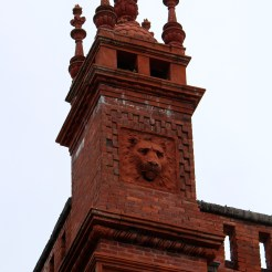 Spanish Renaissance architecture at former Alcazar Hotel