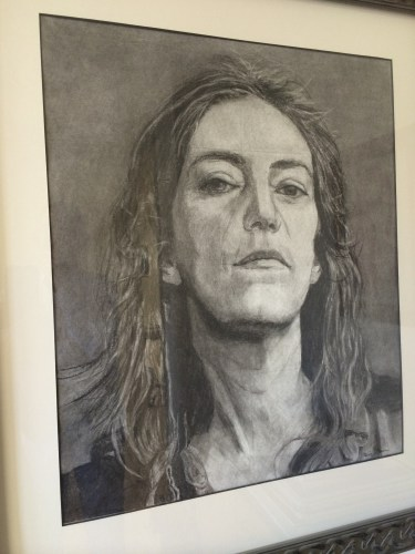 Charcoal portrait by Diana Dee Sarkar