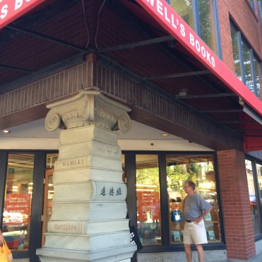An iconic bookstore, Powell's takes up a whole city block in Portland.