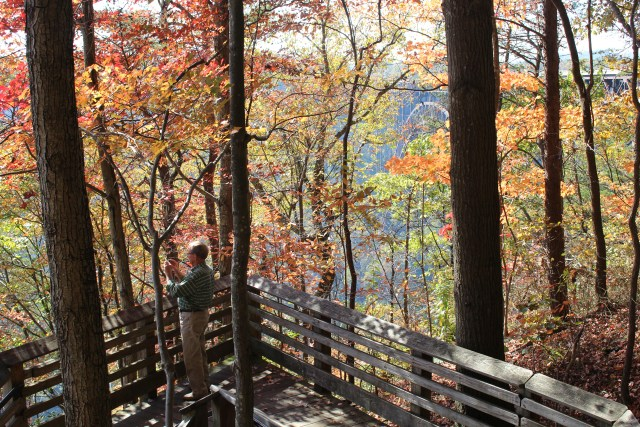 Taking memorable pictures is easy at New River Gorge Bridge where there's beauty at every turn.