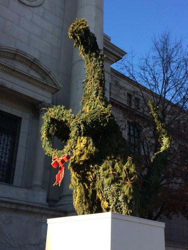 Merry Christmas from the American Museum of Natural History