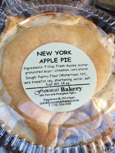 Take back a homemade apple pie from a local bakery -- save money, eat well!