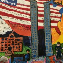 Fourth graders in Charleston, South Carolina, expressed their interpretation of the tragedy of 9/11.
