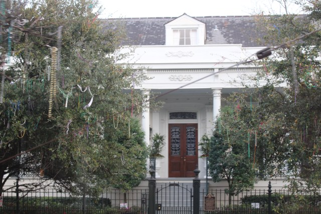 Stately home in New Orleans Garden District