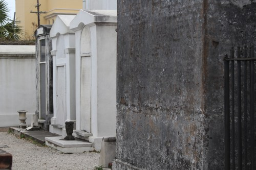 A last glimpse of St. Louis Cemetery #1