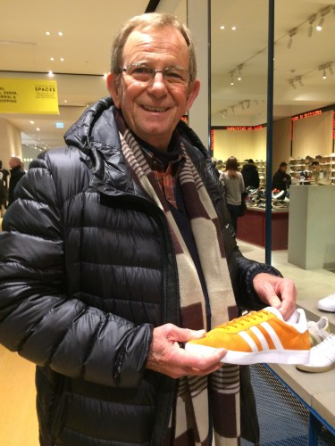 You never know when you'll find Big Orange shoes in London!