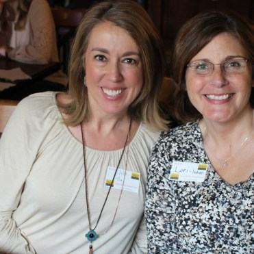 Enjoying a girls' weekend: Julia and Lori from Franklin, Tennessee.