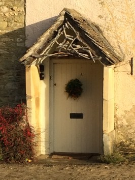 Creamy door in The Cotswolsd
