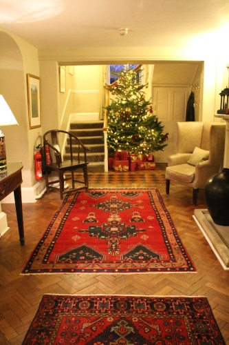 Colorful Christmas at Lords of the Manor