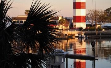 Hilton Head harbor under repair
