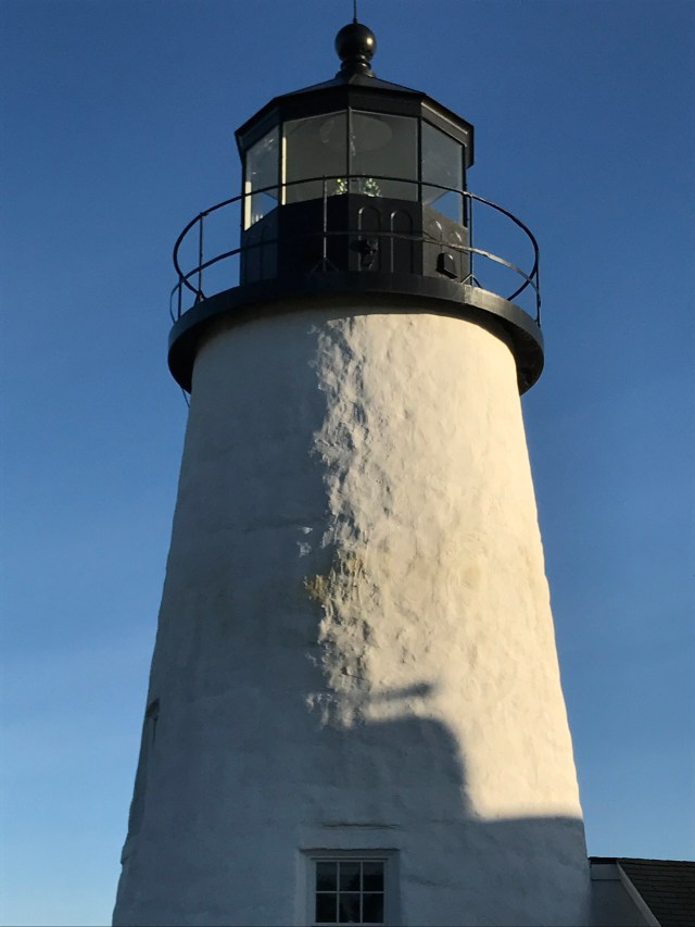 Lighting the way: tower at Pemaquid Point